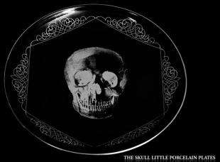 Skull Plate by D.L. and Company