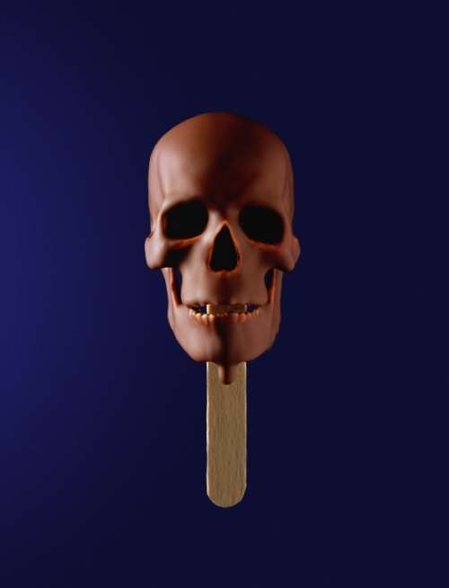Skull Popcicles