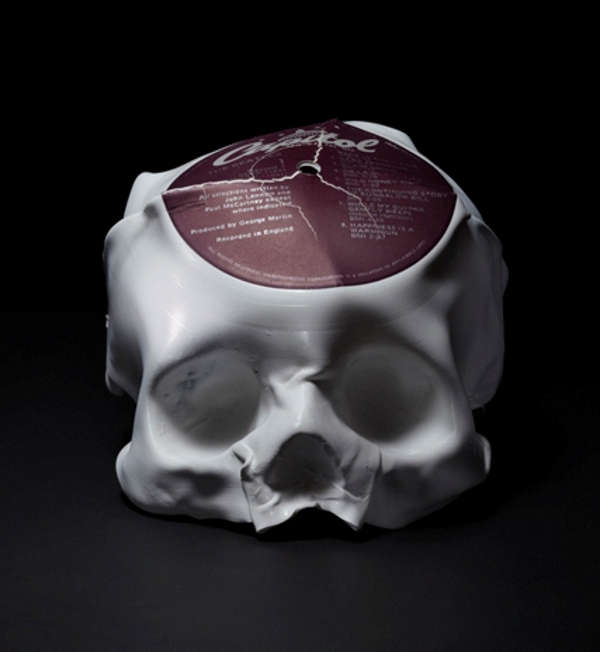 Melted Skull Sculptures