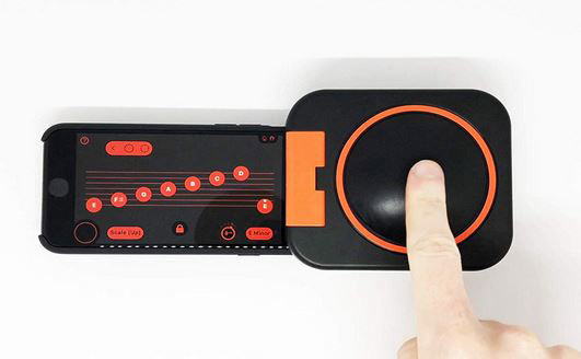 Single-Button Smartphone Music Devices
