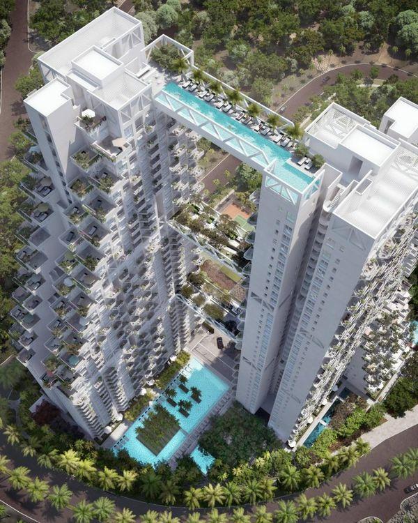 Towering Building-based Pools