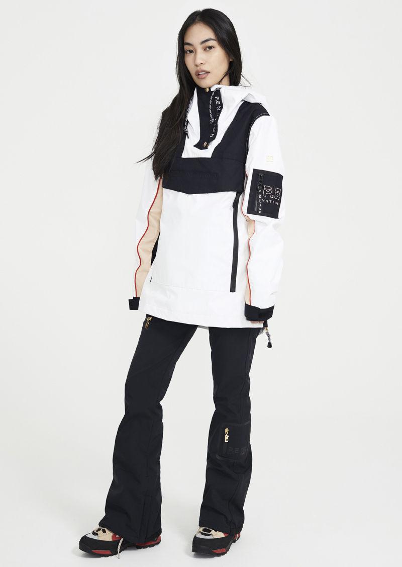 Vintage Military-Inspired Ski Jackets