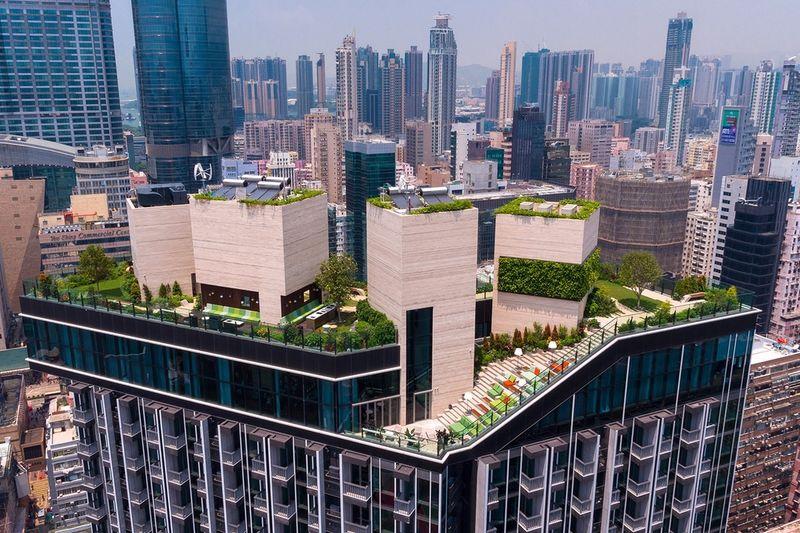 Skyscraper Rooftop Parks