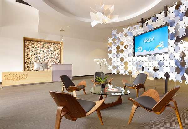 Designer Telecommunications Interiors