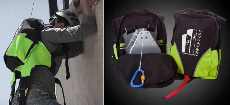 Emergency Rappelling Knapsacks