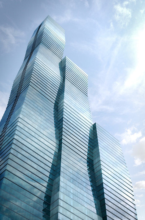 Undulated Skyscraper Designs