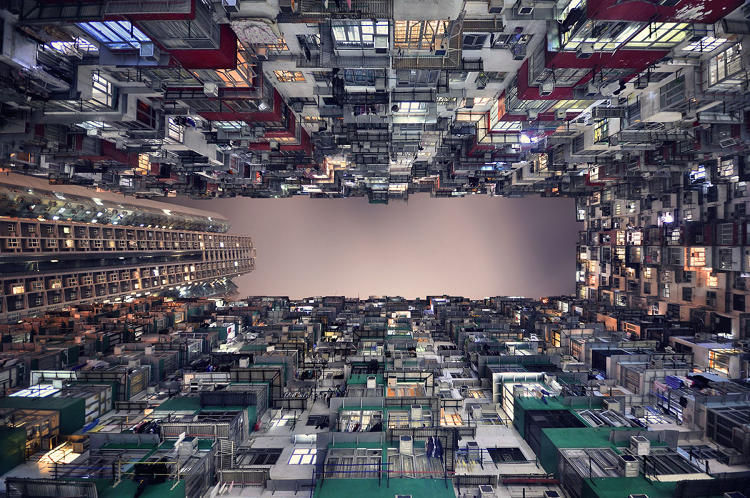 Dizzying Skyscraper Photography