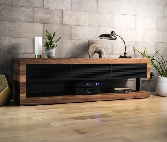 Vintage TV Console-Inspired Speakers