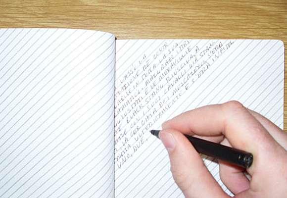 Slant-Ruled Notebooks