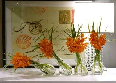 Slanted Vases