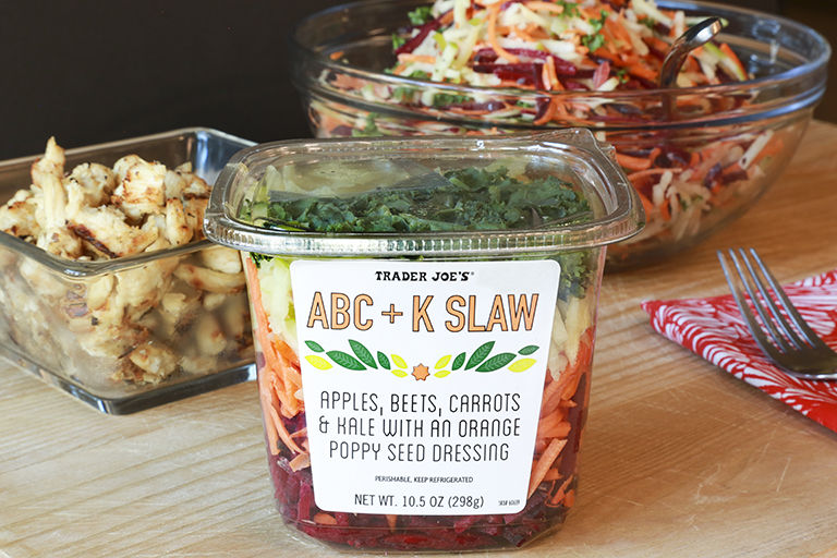 Alphabet-Inspired Slaw Salads