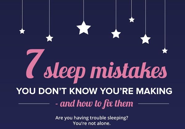 Bad Sleep Habits Charts