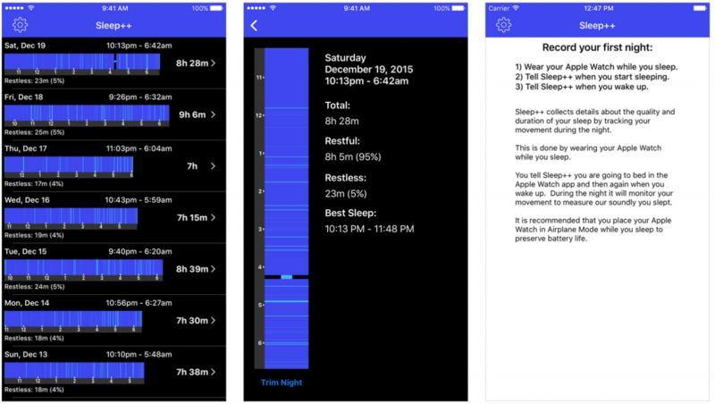 Automatic Sleep Tracking Apps