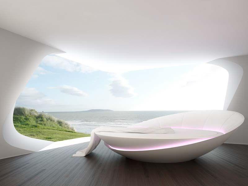 Futuristic Rotating Beds
