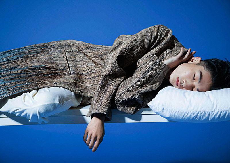 Slumbering Model Photography