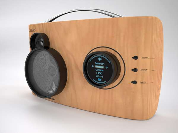 Modernized Retro Stereos