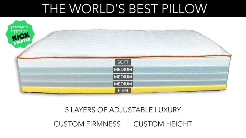 Customizable Comfort Pillows