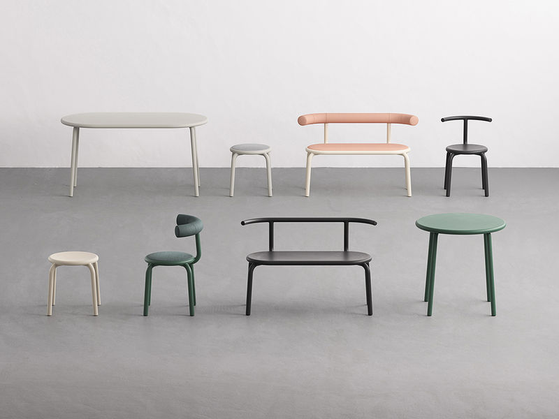 Conversation-Enabling Furniture Collections
