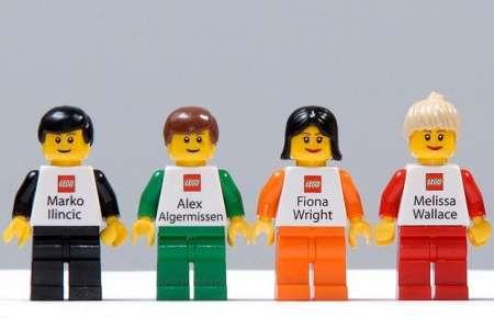 Toys As Business Cards Custom Made Miniature Lego Figurines To