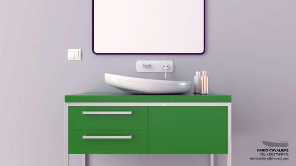 Sloping Bathroom Basins