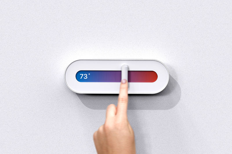 User Interface-Inspired Thermostats