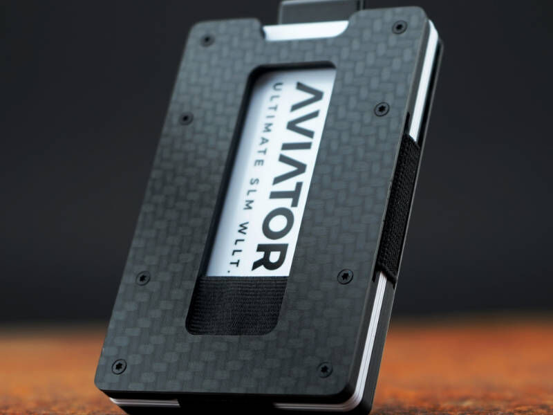 Rugged Hard-Sided Wallets