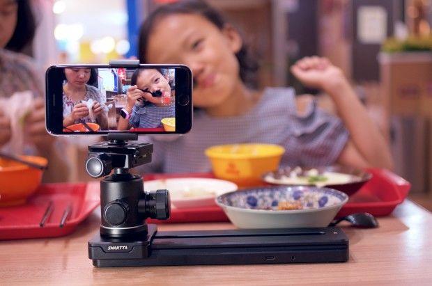 Sliding Motorized Camera Mounts