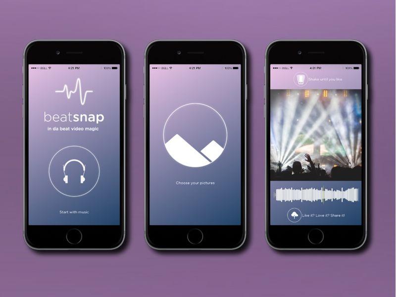 Synchronized Music Slideshows
