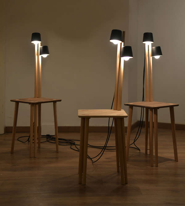 Built-In Lamp Furniture