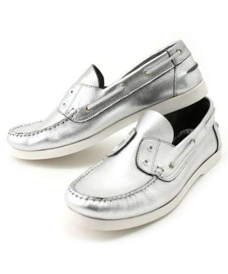 Metallic Deck Shoes