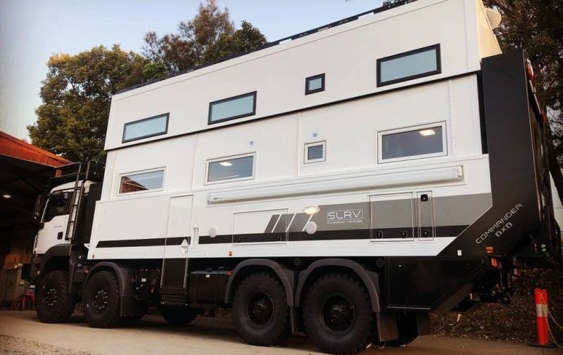 Luxury Two-Story Motorhomes