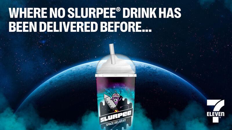 Space-Bound Slushie Beverages
