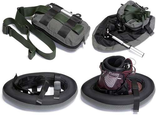 Inflatable Snow Shoes