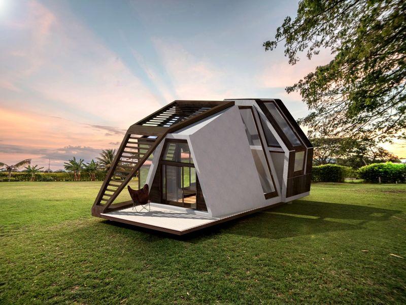 Porch Prebuilt Mobile Dwellings Bigfoot Insurance Prebuilt Mobile Dwellings Small Mobile Homes
