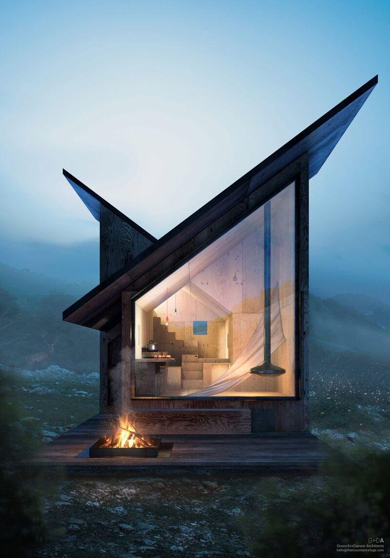 Tiny Mountainous Modular Cabin