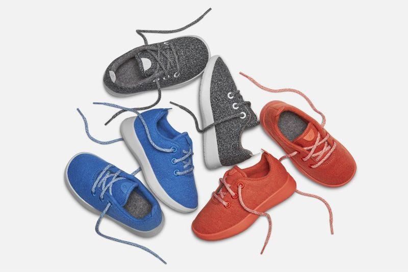 Children's Wool Sneakers