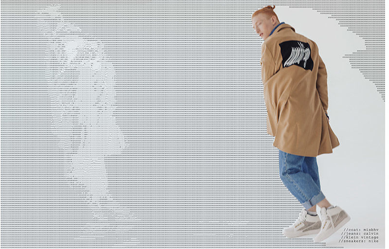 Digitized Streetwear Editorials