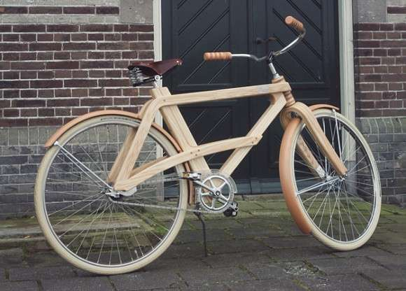 Wooden Retro Bicycles