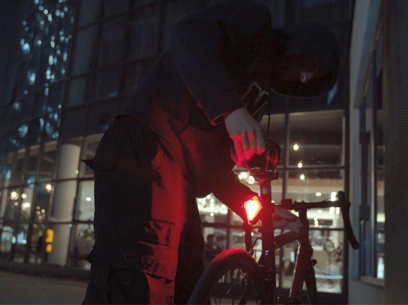 Alarm System Bike Lights