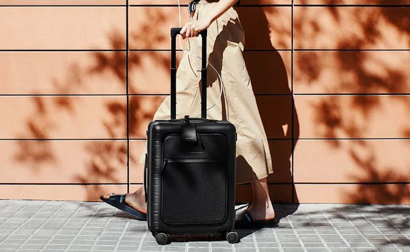 Removable Battery Smart Suitcases