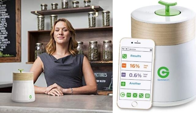 Cannabis-Testing Devices : smart cannabis testing device