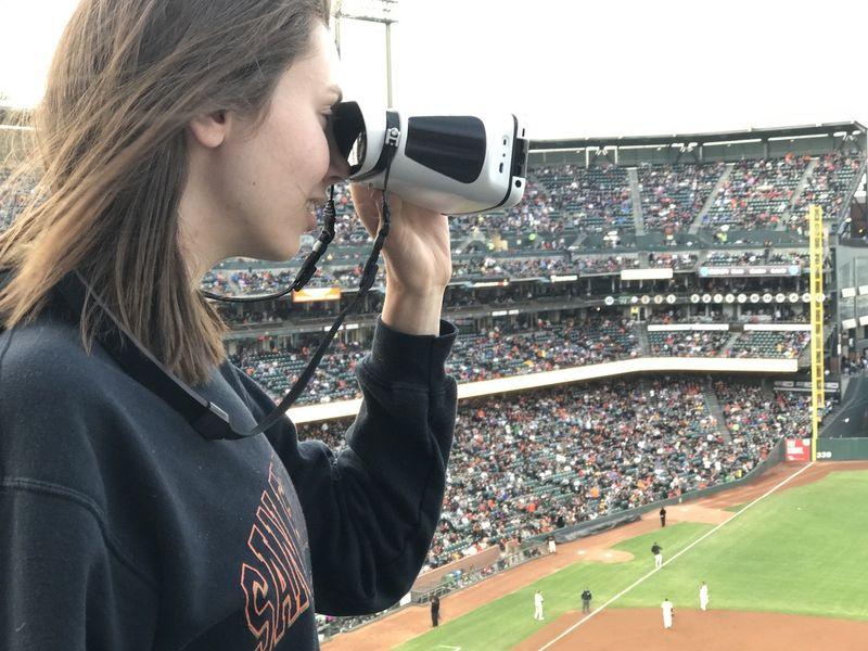 View-Recording Binoculars
