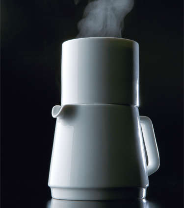 Stackable Porcelain Coffee Makers