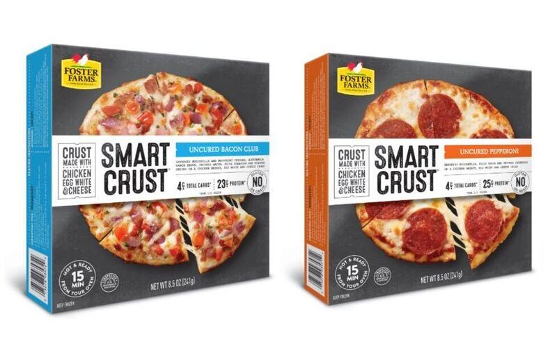 Chicken-Based Frozen Pizzas