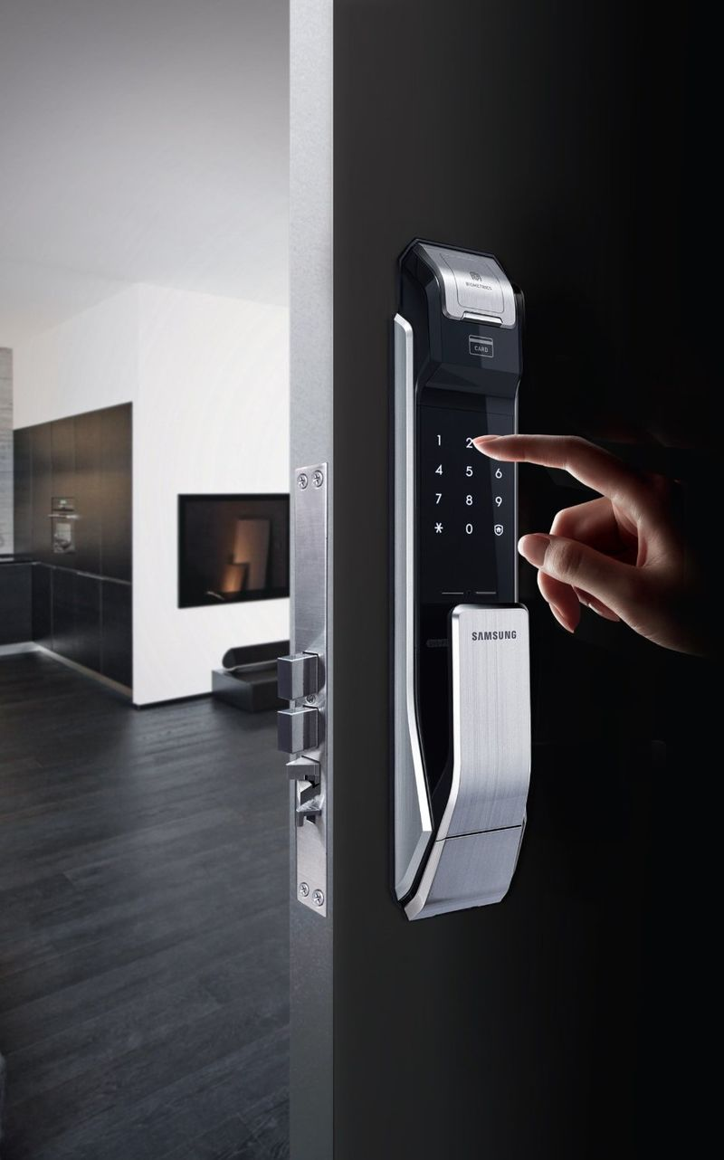biometric door locks - Biometric Door Lock