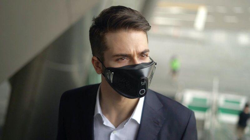 Bacteria-Killing Face Masks