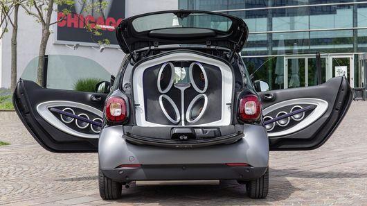 Sound-Blasting Cars