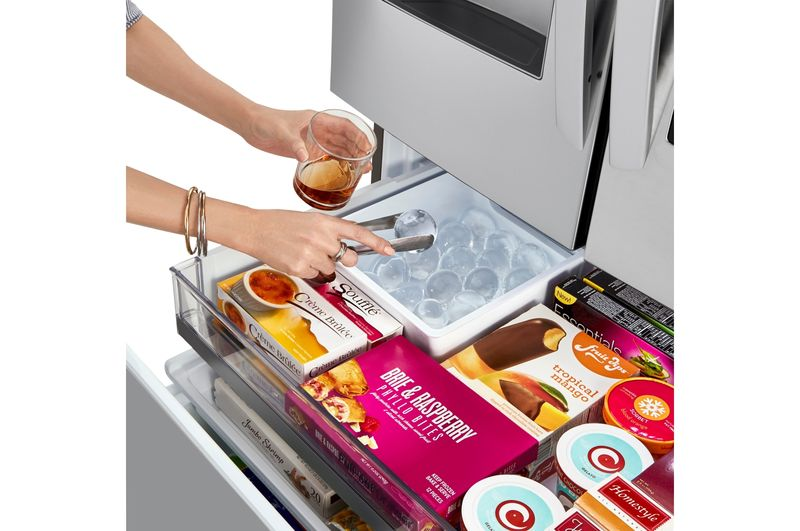 Ice Ball-Producing Smart Fridges