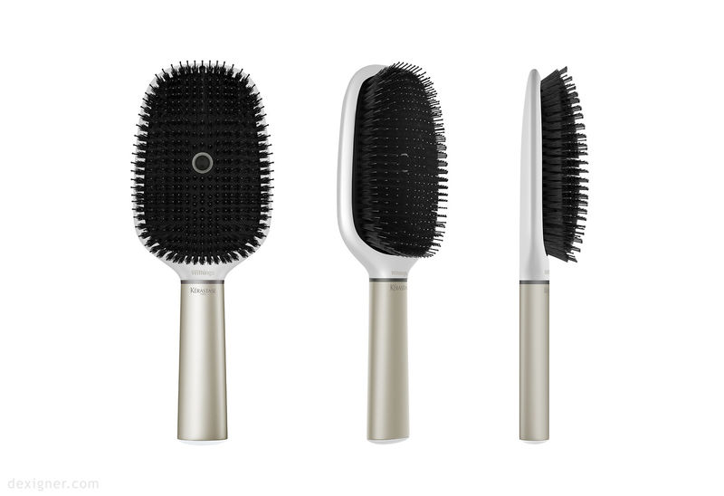 Tech-Infused Hair Brushes