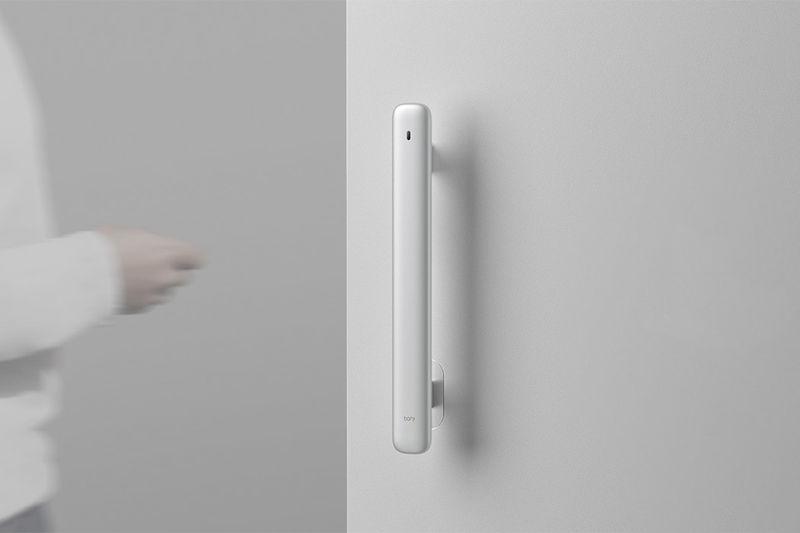 Intelligent Tech-Hiding Door Handles